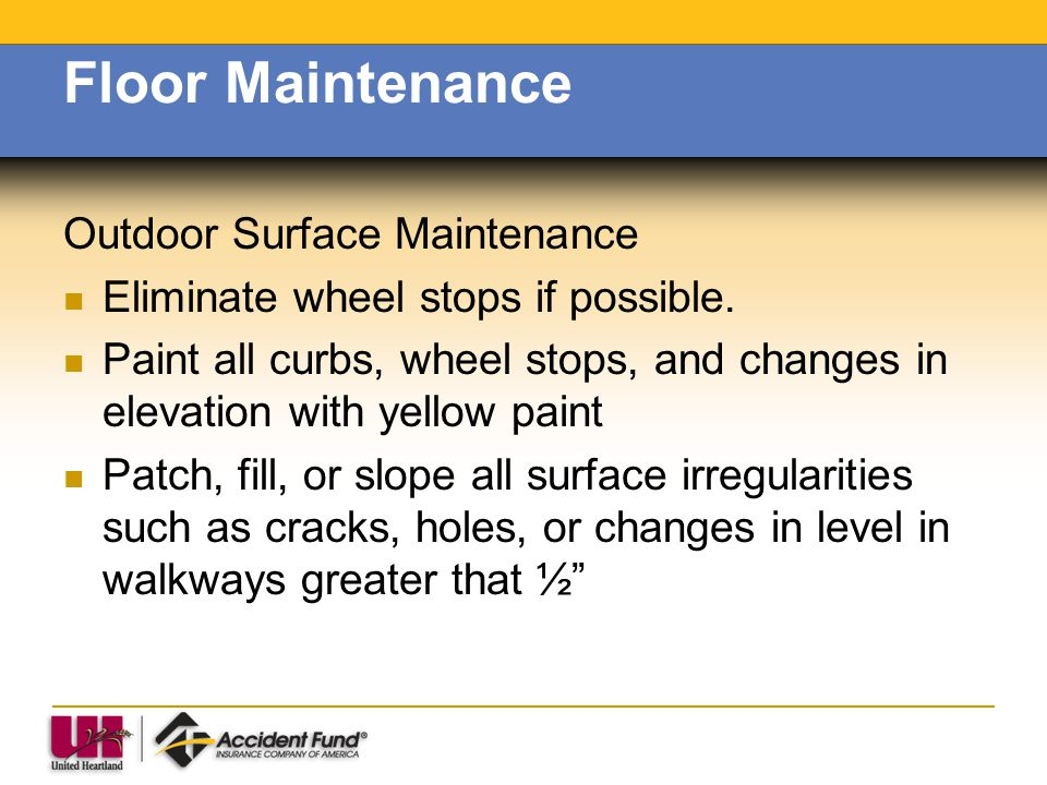 Floor Maintenance Outdoor Surface Maintenance