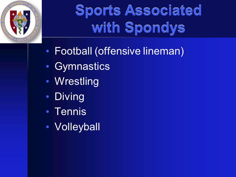 Sports Associated with Spondys