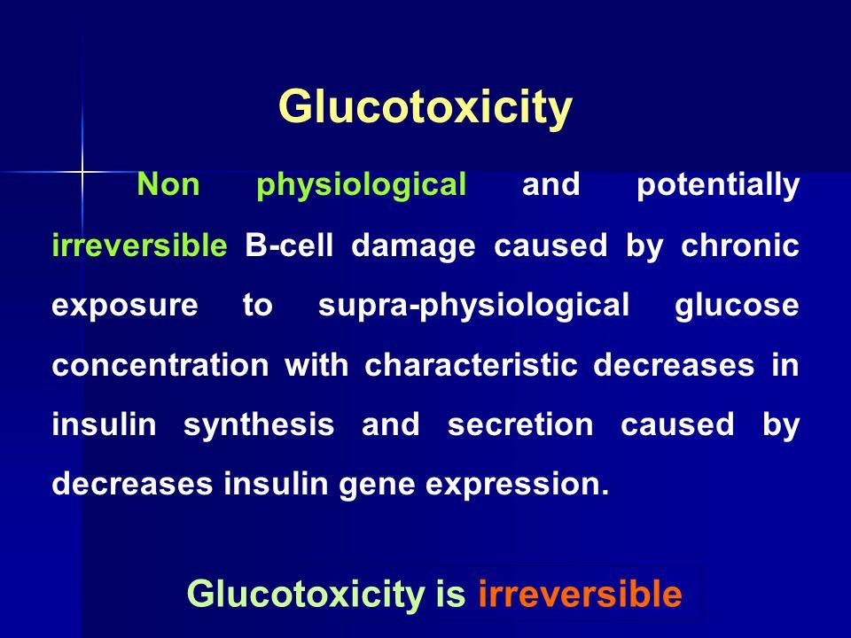 Glucotoxicity