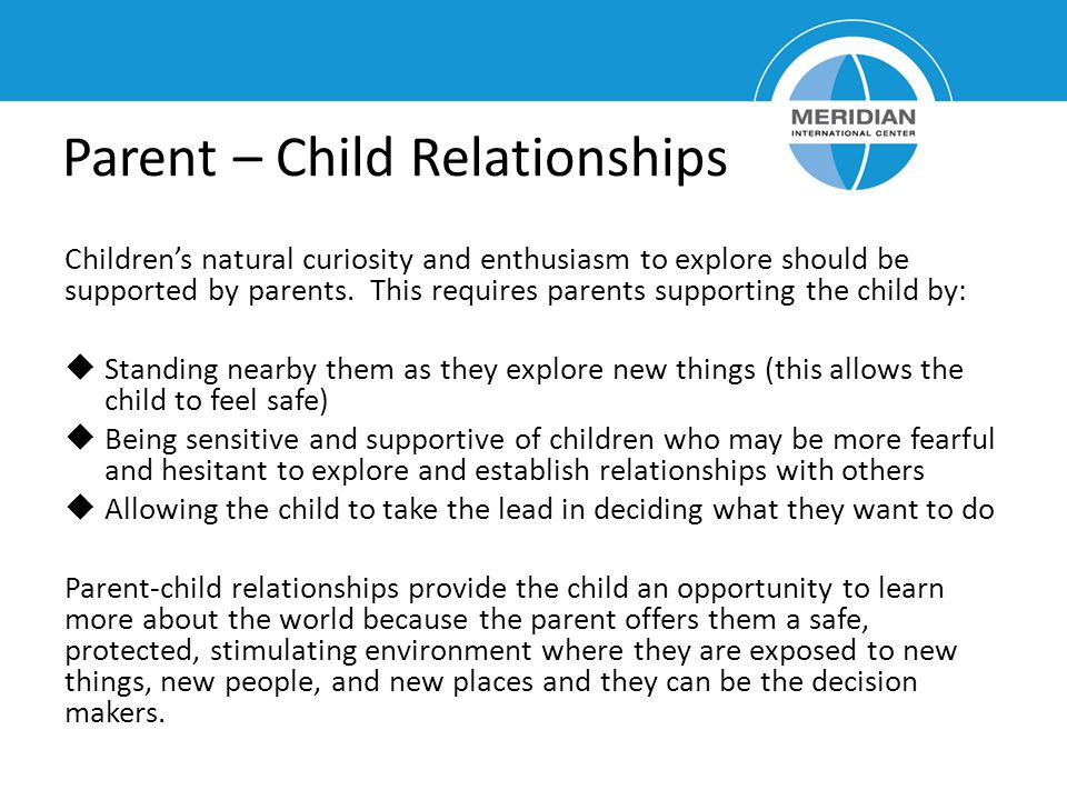 Parent – Child Relationships
