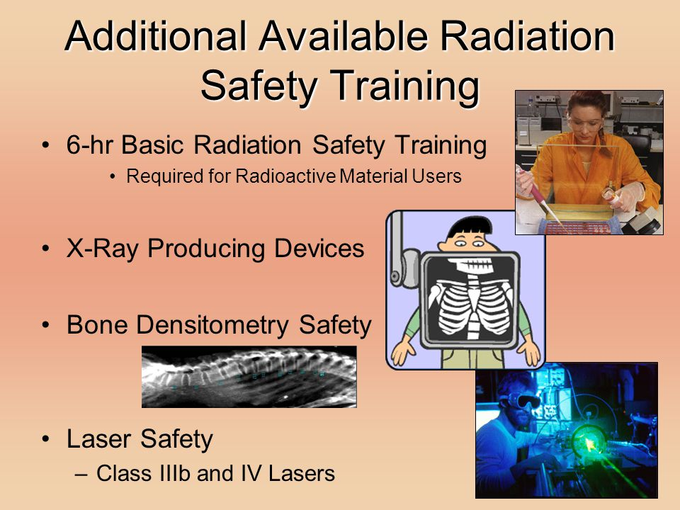 Additional Available Radiation Safety Training