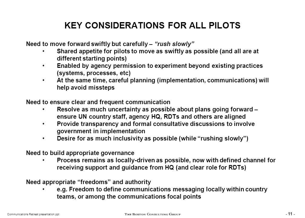 SOME KEY QUESTIONS FOR ALL PILOTS