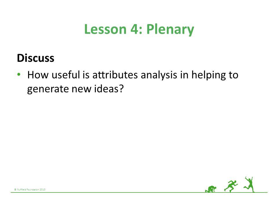 Lesson 4: Plenary Discuss