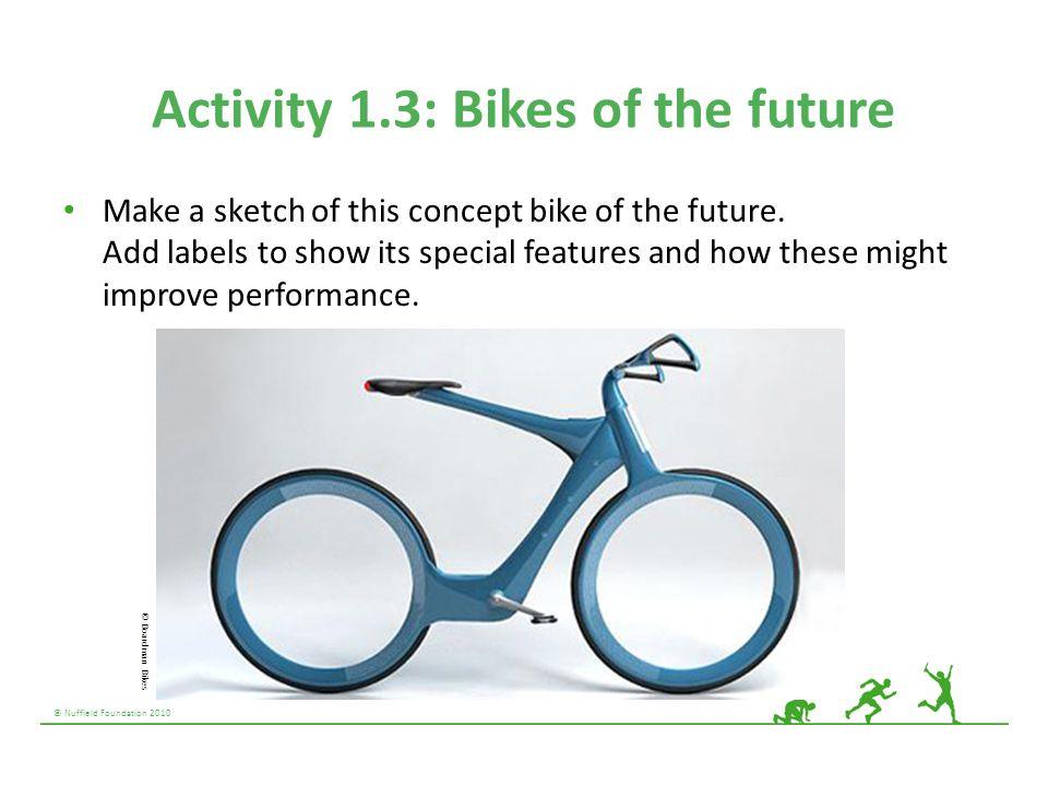 Activity 1.3: Bikes of the future