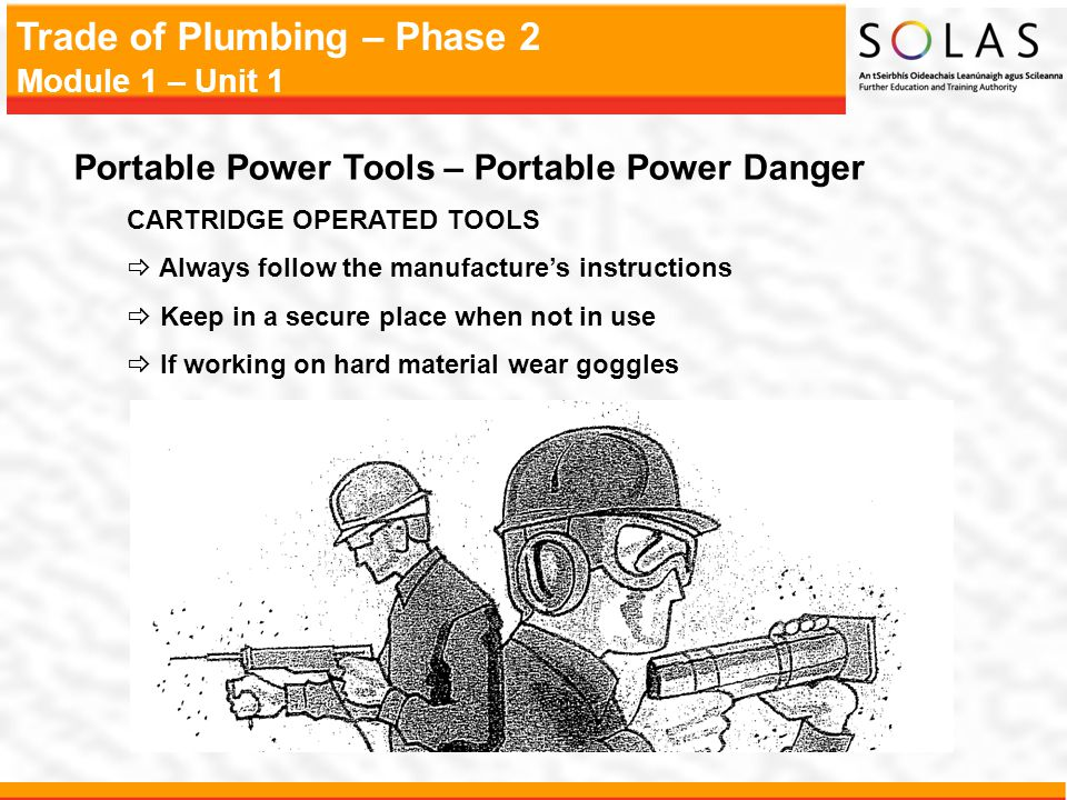 Portable Power Tools – Portable Power Danger
