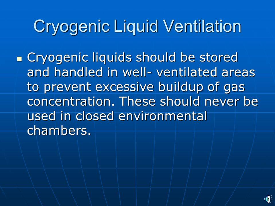 Cryogenic Liquid Ventilation