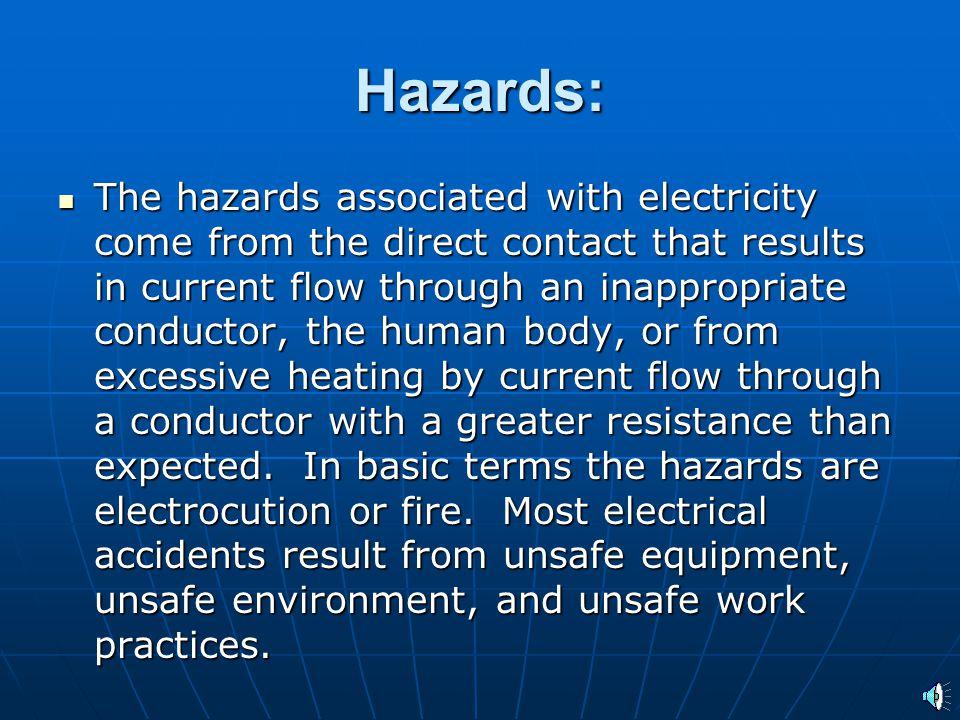 Hazards: