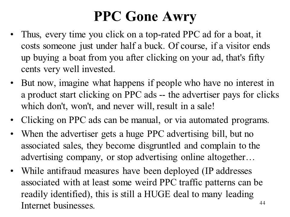 PPC Gone Awry