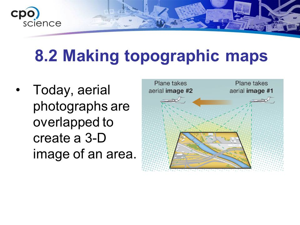 8.2 Making topographic maps
