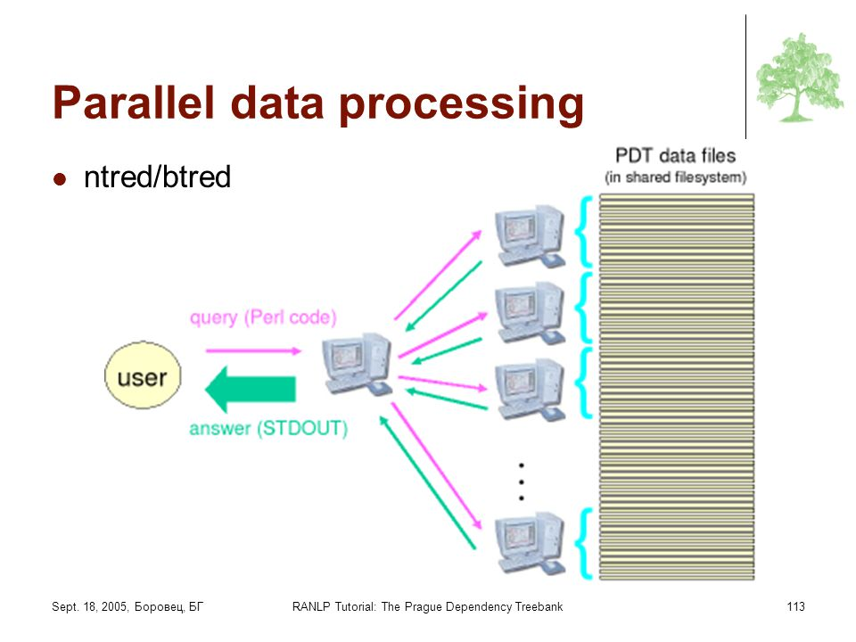 Parallel data processing