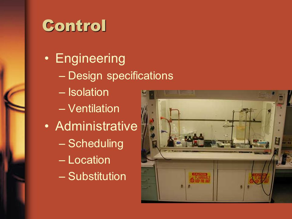 Control Engineering Administrative Design specifications Isolation