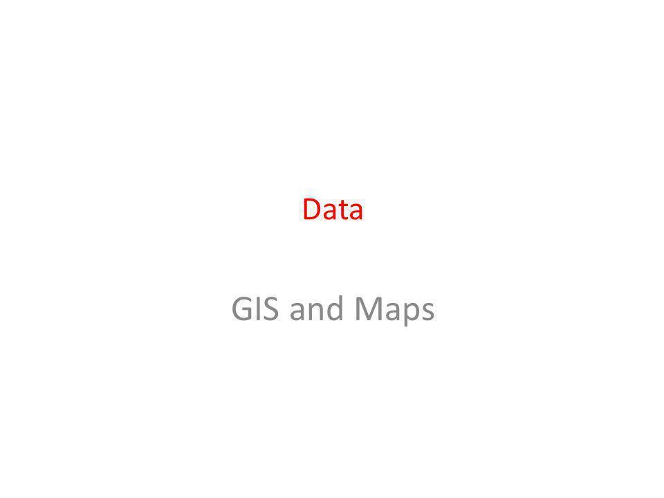 Data GIS and Maps