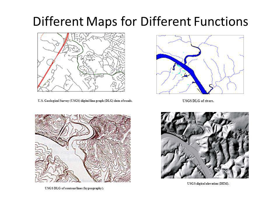 Different Maps for Different Functions