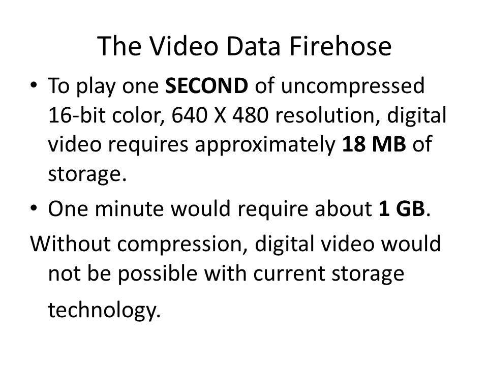 The Video Data Firehose