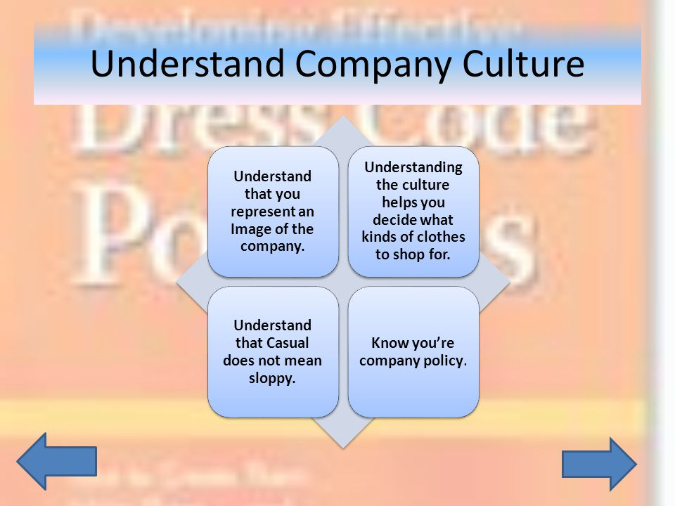 Understand Company Culture