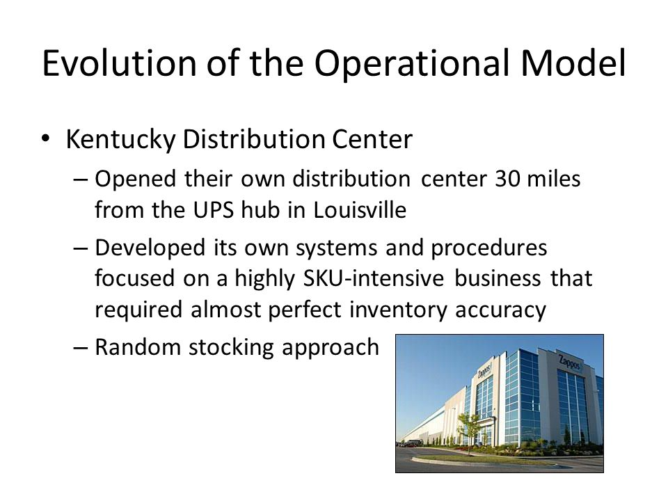 Evolution of the Operational Model