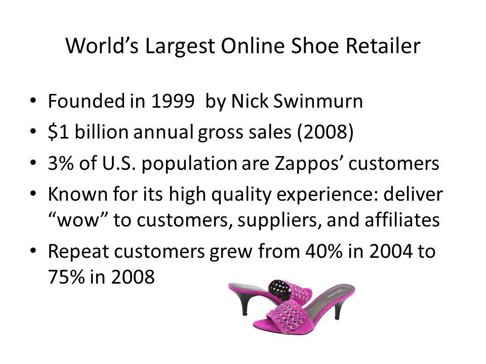 World's Largest Online Shoe Retailer