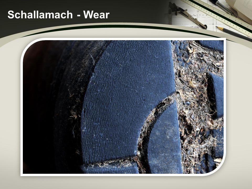 Schallamach - Wear