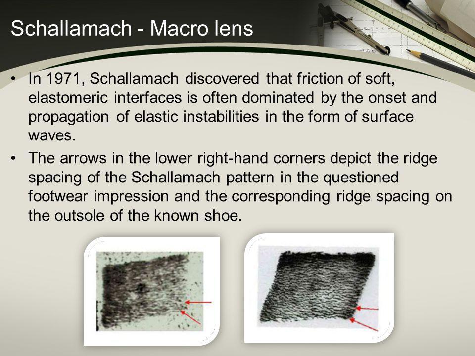 Schallamach - Macro lens