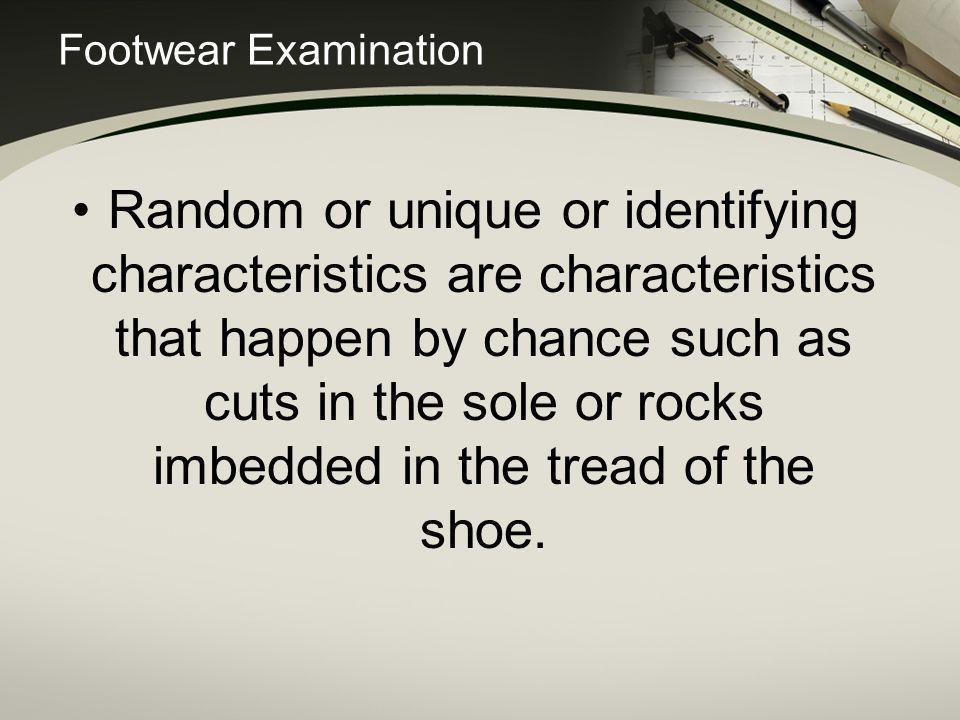 Footwear Examination