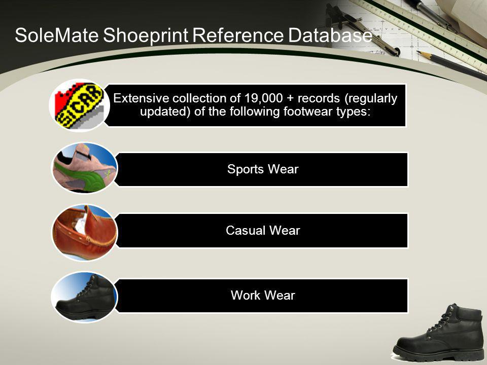 SoleMate Shoeprint Reference Database