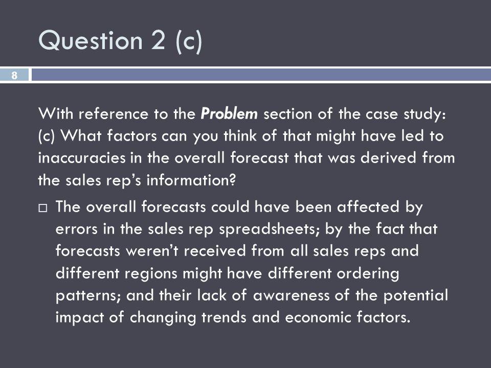 Question 2 (c)