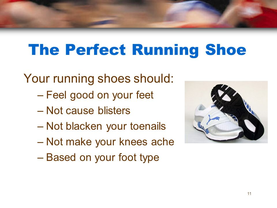 The Perfect Running Shoe