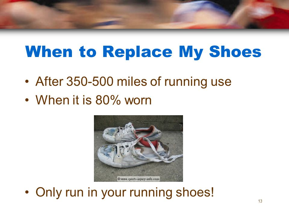 When to Replace My Shoes