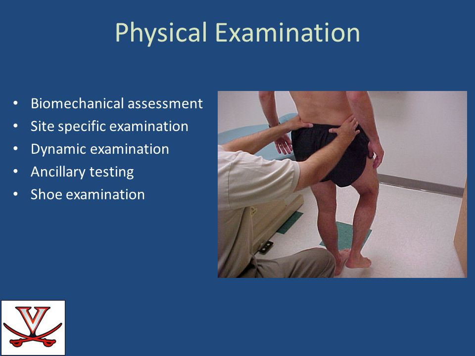 Physical Examination Biomechanical assessment