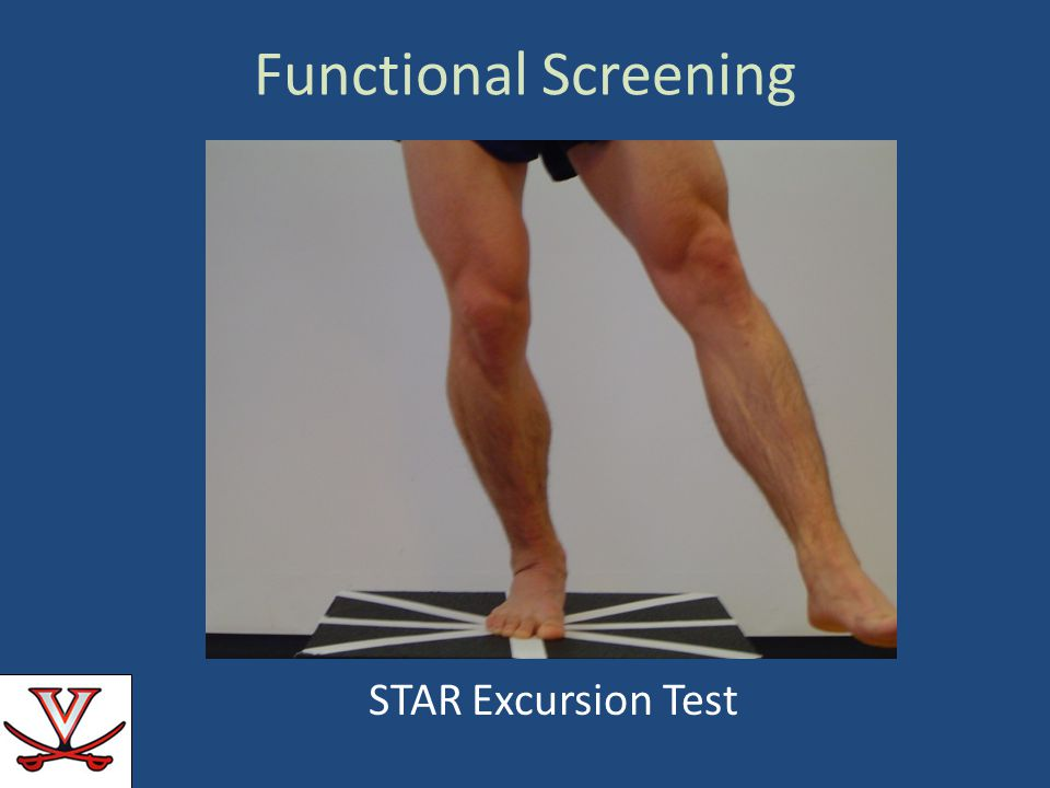 Functional Screening STAR Excursion Test