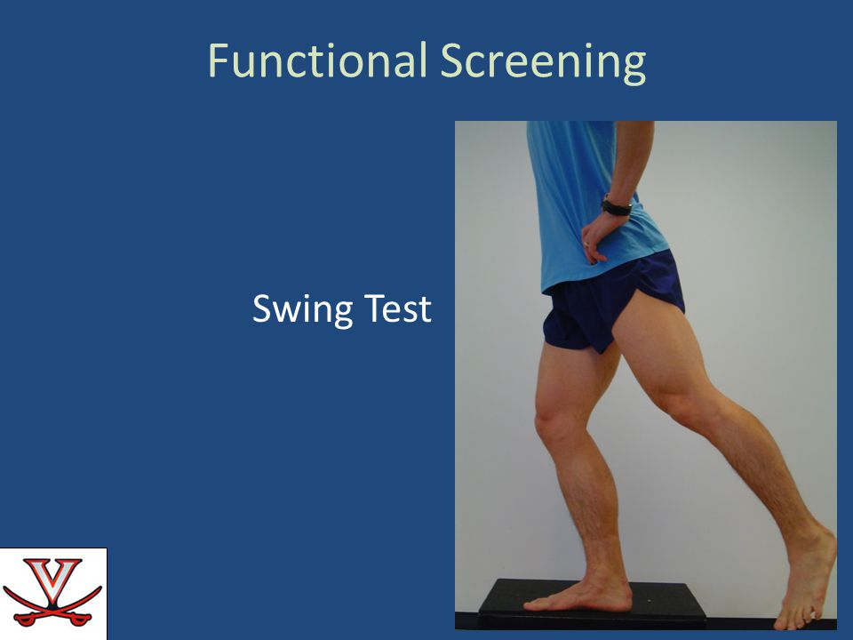 Functional Screening Swing Test