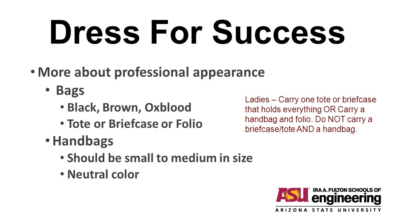 dressing for success essay Some black american men are dressing up to deflect negative attention, as a conscious means of survival  annie flanagan/mashable annie flanagan/mashable.