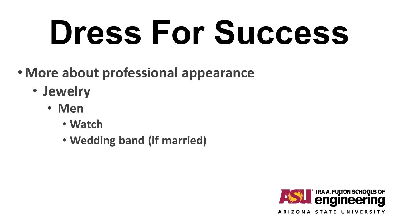 Dress For Success More about professional appearance Jewelry Men Watch