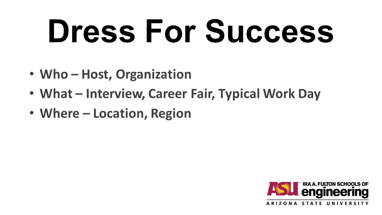 Dress For Success Who – Host, Organization