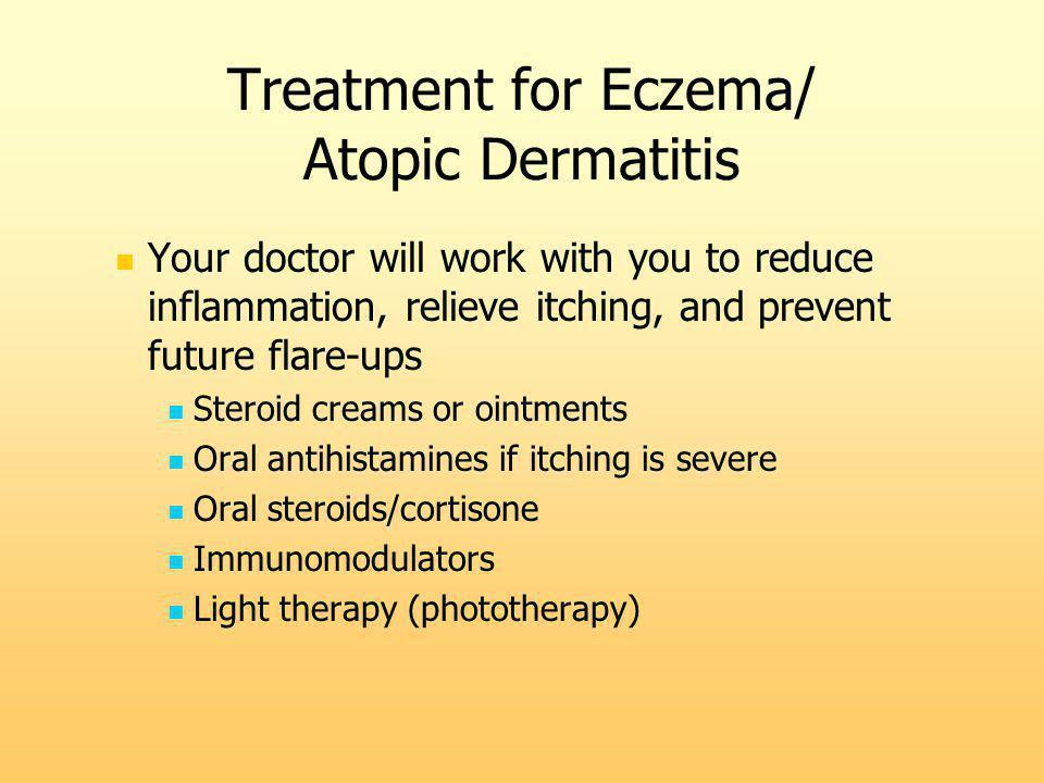 Treatment for Eczema/ Atopic Dermatitis