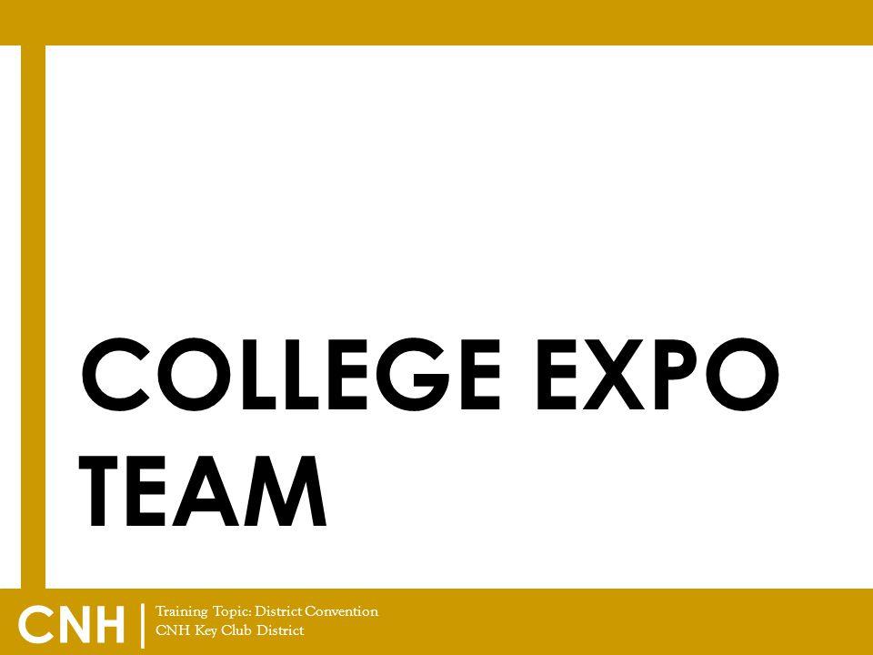 College EXPO Team