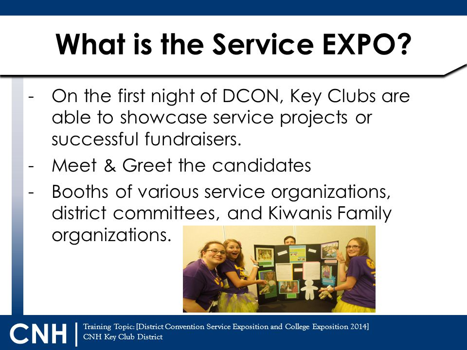 What is the Service EXPO