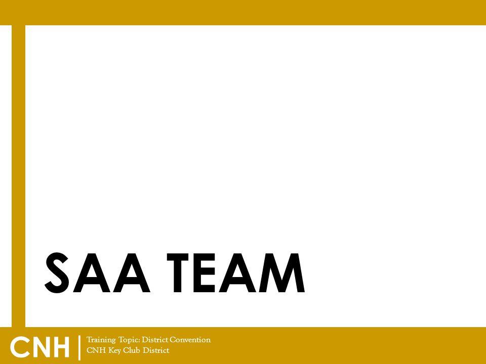 SAA Team