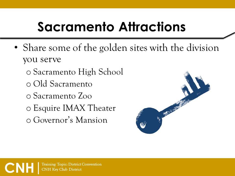 Sacramento Attractions