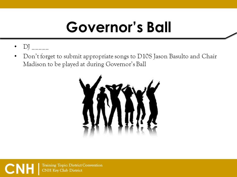 Governor's Ball DJ _____
