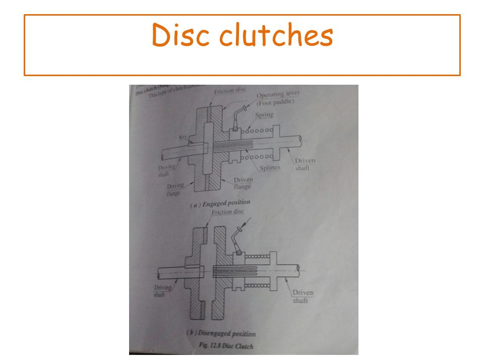 Disc clutches