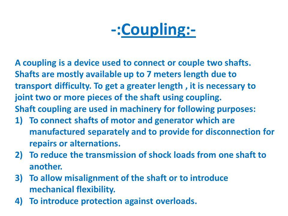 -:Coupling:-
