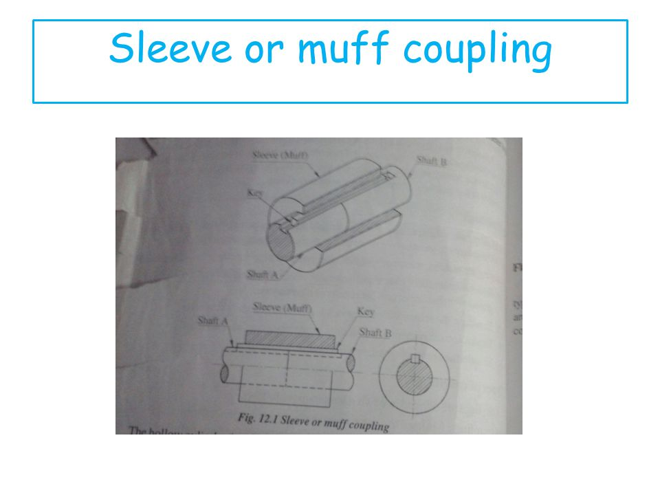 Sleeve or muff coupling