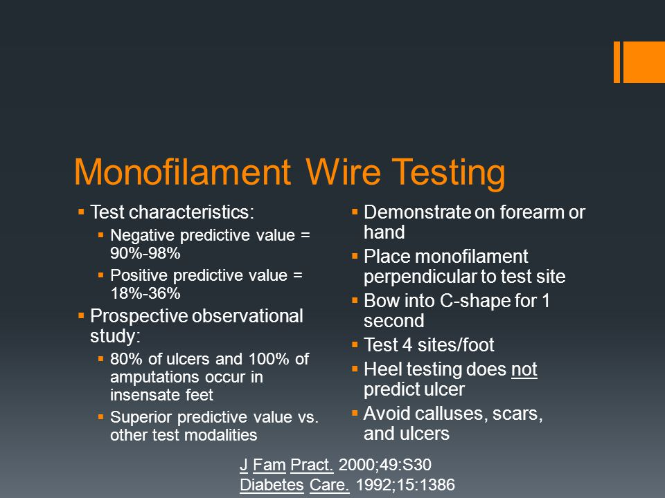 Monofilament Wire Testing