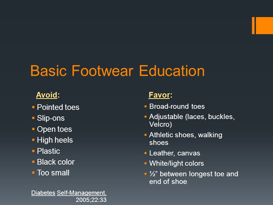 Basic Footwear Education