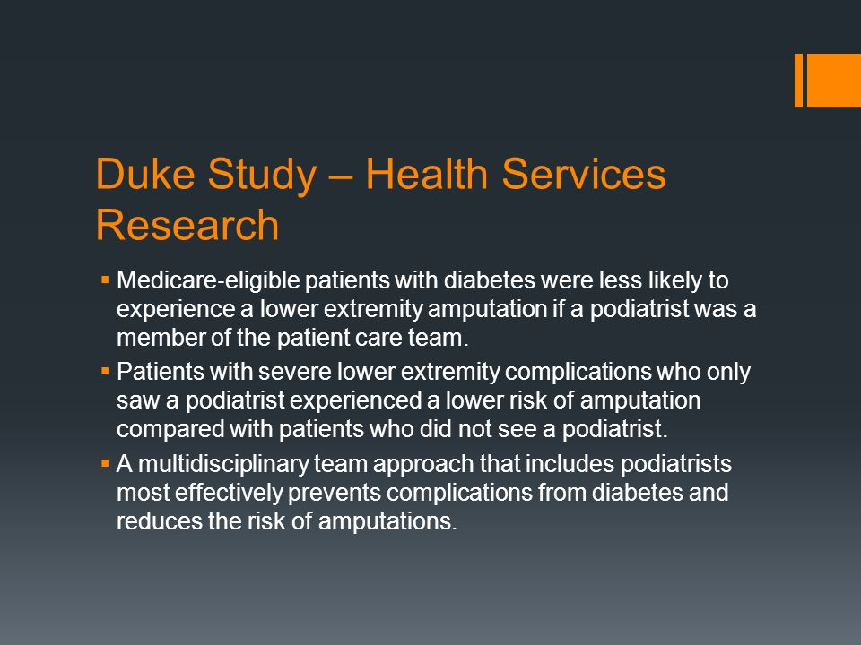 Duke Study – Health Services Research