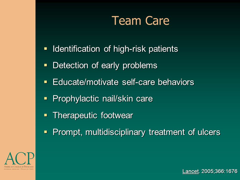 Team Care Identification of high-risk patients