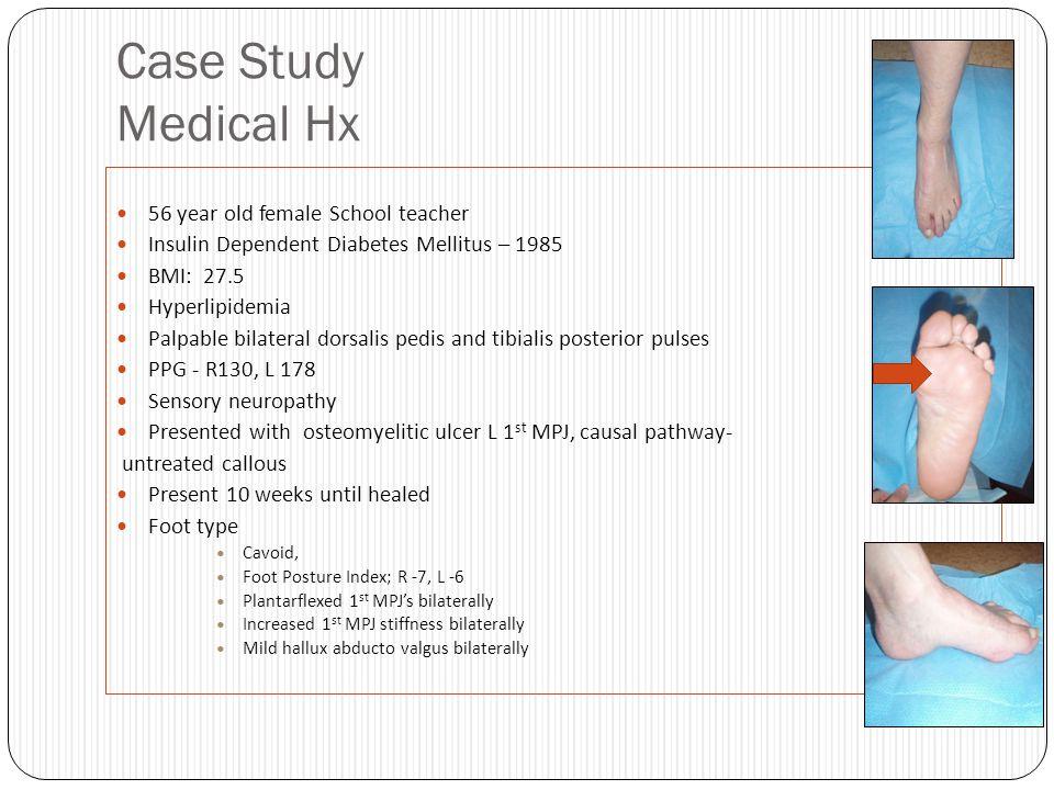 Case Study Medical Hx 56 year old female School teacher