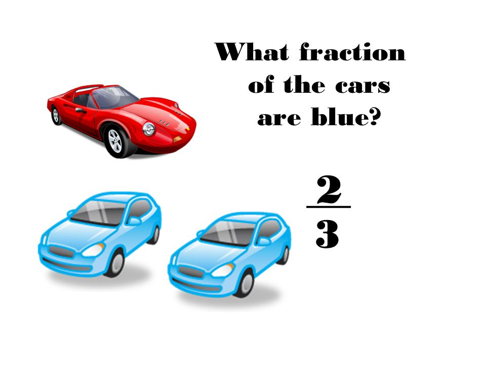 What fraction of the cars are blue
