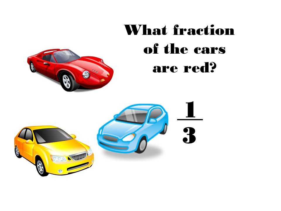 What fraction of the cars are red